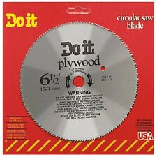 6.5 -inch 150-tooth Do it Steel Circular Saw Blade