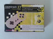 MANETTE CONTROL IT SUPER NINTENDO - SNES - SUPER NES - OLDIES KOO CLASSIC PAD