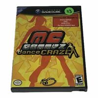 MC Groovz Dance Craze (Nintendo GameCube, 2004) Complete w/Manual Tested Works