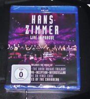 HANS ZIMMER LIVE IN PRAGUE  BLU RAY SCHNELLER VERSAND NEU & OVP