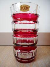 Vase vaas cristal Val st Saint Lambert vsl Cendrillon CG340 Charles Graffart
