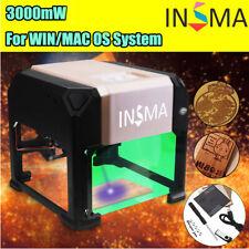 3000MW Laser Engraver Printer CNC Machine Cutter Carver USB Tool Kit DIY AU 🔥🔥