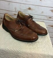 Johnston & Murphy Shoes Men's Size 10.5 M Lace Up Brown Leather Oxfords
