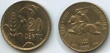 G8442 - Lithuania 20 Centu 1925 KM#74 Latvia Litauen