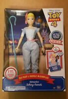 Disney Toy Story 4 Bo Peep and Giggle McDimples Interactive Talking Friends NEW