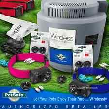 Petsafe PIF-300 Instant Wireless Fence 2 Dog 275 Blue Pink Collar System RFA-67