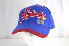Kansas University Jayhawks Blue Red Baseball Hat Cap Adjustable 064b4abde1ac