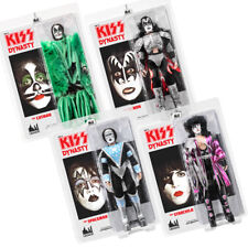 KISS 12 Inch Mego Style Action Figures Series Eight Dynasty: Set of all 4