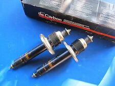 2 Amortisseurs avant à gaz De Carbon pour Renault R18, Fuego