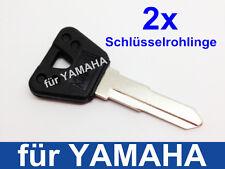 2x Ersatz Schlüsselrohlinge / Schlüssel für YAMAHA V - Max Blank Key