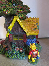 Hawthorne Village Pooh's Haunted Hunny Hideout Acre Halloween House & Figure
