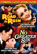 ROAD TO RUIN / NO GREATER SIN - FORBIDDEN CLASSICS DOUBLE FEATURE - SEALED DVD