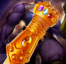 Thanos Infinity Gauntlet Gloves Cosplay Avengers Infinity War Endgame Prop