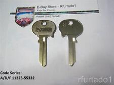 Key Blank for Vintage Mercedes 1966-69 - Saab Sonett primary key 1970-74 (R61N)