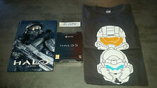 HALO 5 GUARDIANS EDITION LIMITEE NEUF VF + ARTBOOK HALO LA SAGA + 2 TEE SHIRTS
