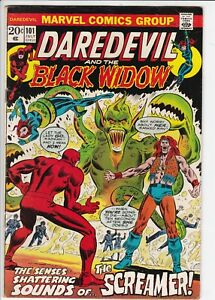 Daredevil # 101 FN (6.0) Black Widow. Marvel. OW pages