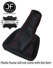 Pelle Rosso Stitch Ghetta Del Cambio si adatta SEAT IBIZA CORDOBA 6k2 Facelift 1999-2002