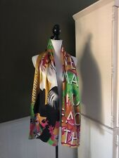 "Custo Barcelona""We Were Made For Each Other"" Fousard Silk Scarf-17.5x70"""