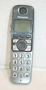 Panasonic KX-TGA470 Cordless Expansion Handset Phone Only KX-TGA470 S WORKS!