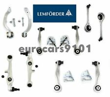 Audi A8 S8 Lemforder Front Upper & Lower Forward & Rearward Control Arm Kit