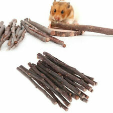 Small Pet Snack Wood Branch Molar Sticks Twigs for Hamster Rabbit Pet Supplies.