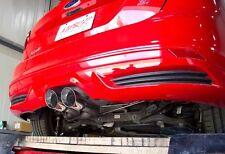 "MBRP Dual Center 3"" Cat Back 2013-2017 Ford Focus ST - XP Series"