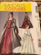 McCall's M6097 6-12 Goth Victorian Pattern Bustle