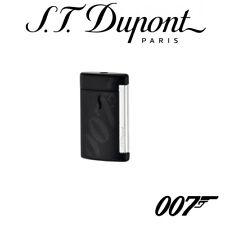 NEW ST Dupont James Bond Collection Matt Black MiniJet Lighter 010114 S T