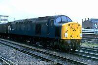 British Rail Class 40 40 008 Manchester Victoria 20/08/82 Rail Photo B