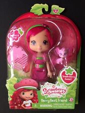 Strawberry Shortcake Scented Doll Raspberry Torte with Pet Dog Chiffon New