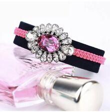 Swarovski By Shourouk Crystal Jewelry Bracelet Pink 5019150 $125 ~NIB