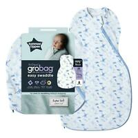 Tommee Tippee Grobag Newborn Easy Swaddle Baby Sleeping Bag, Little Planet Earth