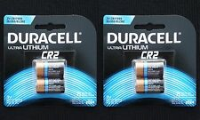 Duracell Type CR2 Ultra Lithium Batteries, 4-Cnt (Exp. 2024!)