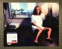 Glen Close Psa Dna Coa Hand Signed 11x14 Fatal Attraction Photo Autograph