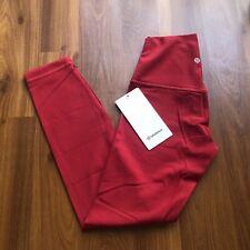 "Lululemon Align Pant II *25"" Dark Red Size 4"