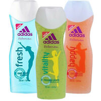 Lot of 3 ADIDAS Shower Gel 8.4 oz 250ml each VITALITY & Happy & FRESH for women
