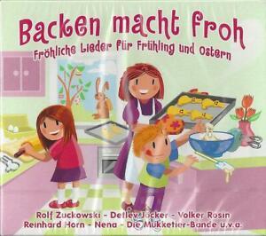 CD Backen macht froh Kinderlieder Frühling Ostern Zuckowski Nena TCM Tchibo