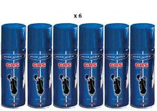 LOT DE 6 RECHARGE DE GAZ UNIVERSELLE SILVER MATCH POUR BRIQUET 250 ML NEUF