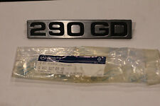 original Mercedes G Modell W461 - 290GD Typenzeichen Schriftzug 4618170915 - NEU