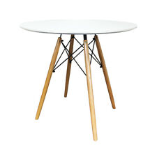 DSW Round Dining Table Eiffel Style Lounge Bar Modern Designer 60 or 80cm