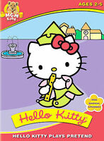 Hello Kitty Plays Pretend (DVD, 2004) DISC ONLY - NO COVER ART