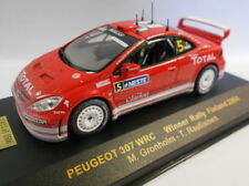 Ixo 1/43 Scale RAM186 PEUGEOT 307 WRC FINLAND 04 GRONHOLM