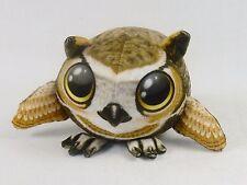Fur Balls Big Brown Owl ~ Cute Cuddly Round Plush Pets, 3D Graphics, Style #2