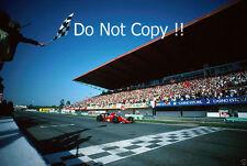 Gerhard Berger Ferrari 640 Winner Portugal Grand Prix 1989 Photograph 1