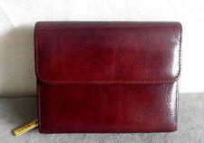 DOPP Genuine Leather Wallet Brown Flap Organizer Credit Card