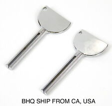 2pcs of Color Tube Squeezer Keys, Salon Metal Color and Toothpaste Tube Squeezer