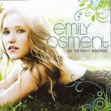 All the Right Wrongs [EP] by Emily Osment (Cd Oct-2009)