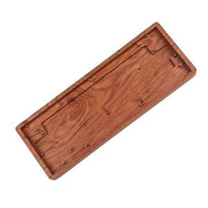 CNC Wood Wooden Case For GK61 GK64 GK61x GK61xs GK64x GK64xs XD75 ID75 Bluetooth