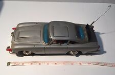 Vtg Gilbert James Bond 007 Aston Martin DB5 Battery Operated Toy Car Tin Japan