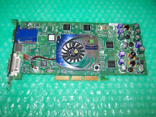 NVIDIA Quadro4 750 XGL Dual Monitor AGP Graphics Card, Tested & Working